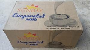 Harga sunbay evaporated milk kartonan 48 pcs sunbay susu evaporasi | HARGALOKA.COM