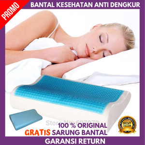 Harga bantal kesehatan terapi tulang belakang anti dengkur memory foam   HARGALOKA.COM
