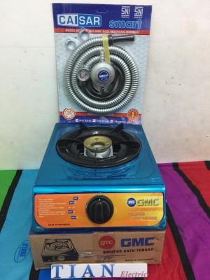 Harga gmc bm 020 kompor gas 1 tungku murah selang amp regulator | HARGALOKA.COM