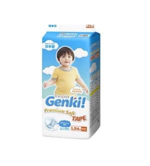 Harga nepia genki tape l54 l 54 diaper perekat popok bayi popok   HARGALOKA.COM