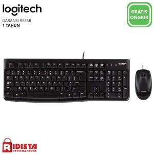 Harga logitech combo keyboard dan mouse usb mk120 l072 | HARGALOKA.COM