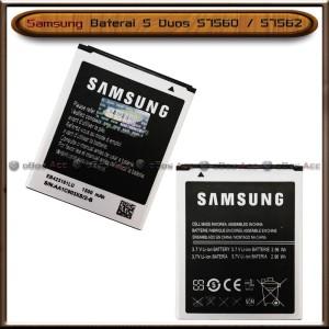 Harga baterai samsung s duos s7560 s7562 original batre batrai | HARGALOKA.COM