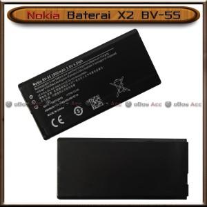 Harga baterai nokia x2 bv 5s lumia x 2 dual sim bv5s original batre batrai   HARGALOKA.COM