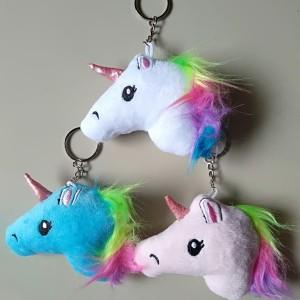 Harga gantungan kunci unicorn high quality gantungan tas unicorn   merah | HARGALOKA.COM