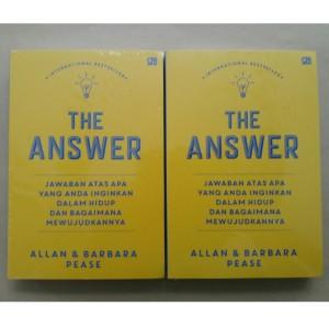 Harga buku the answer jawaban atas semua yang anda inginkan allan   HARGALOKA.COM