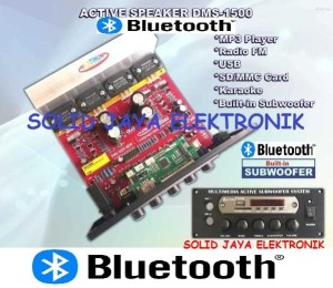 Harga kit power speaker active dms 1500 mp3 bluetooth aktif dms1500 | HARGALOKA.COM