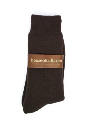Harga socks kaos kaki panjang pria kerja brown formal | HARGALOKA.COM