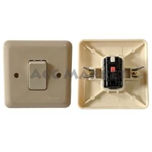 Harga broco ib saklar lampu listrik engkel tunggal tembok tanam | HARGALOKA.COM