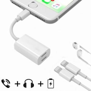 Harga kabel splitter lightning audio charge adapter iphone x 7 8 plus | HARGALOKA.COM