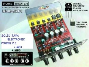 Harga power speaker aktif 2 1 plus mp3 kit home teather dms 5200 | HARGALOKA.COM