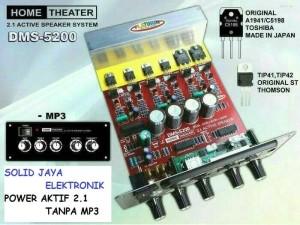 Harga power speaker aktif 2 1 dms5200 kit home teather dms 5200 | HARGALOKA.COM