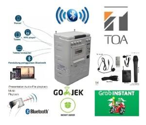 Harga toa bluetooth speaker portable sound | HARGALOKA.COM
