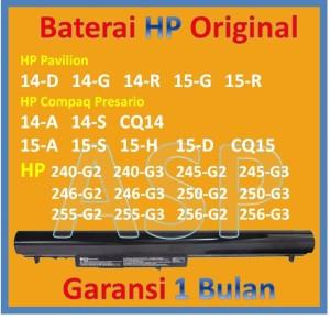 Harga baterai ori hp pavilion 14 g 14 gxxxau 14 gxxxax 14 gxxx1a | HARGALOKA.COM