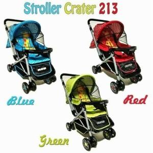 Harga kereta dorong bayi roda empat   stroller crater | HARGALOKA.COM