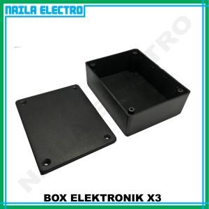 Harga box x3 box elektronik x3 box plastik rangkaian | HARGALOKA.COM