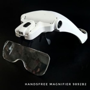 Harga kaca pembesar kecantikan elektronik handsfree magnifier | HARGALOKA.COM