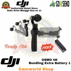 Harga dji osmo 4k bundling extra battery 1 garansi resmi dji | HARGALOKA.COM