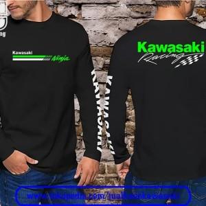 Harga baju kaos kawasaki racing lengan | HARGALOKA.COM