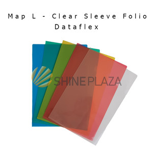 Harga map l   clear sleeve folio   dataplus   dataflex   | HARGALOKA.COM
