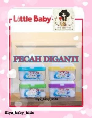 Harga little baby box 3 in 1 organizer tempat kapas bedak tissue bayi   | HARGALOKA.COM