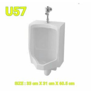 Harga urinoir u57 toto complet set push valve | HARGALOKA.COM