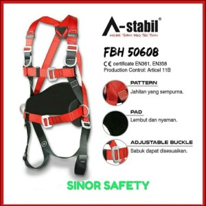 Harga full body harness astabil 50608 safety belt fall protection sabuk   HARGALOKA.COM