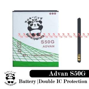 Harga baterai advan vandroid s50g double power ic | HARGALOKA.COM