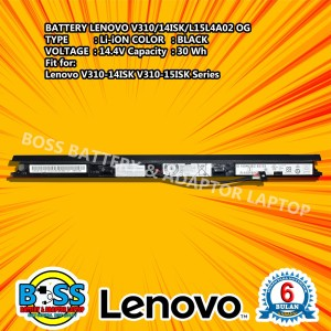 Harga baterai lenovo 100 original ideapad v110 14ast | HARGALOKA.COM