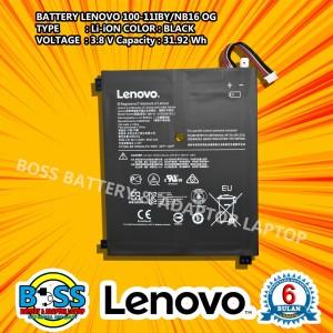Harga baterai batre lenovo 100 original ideapad 100 100s 11iby | HARGALOKA.COM