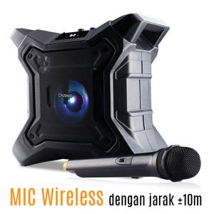 Harga bluetooth portable karaoke speaker dazumba dw288 waterproof ipx5   | HARGALOKA.COM