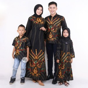 Harga sarimbit batik keluarga couple batik mama papa dan | HARGALOKA.COM