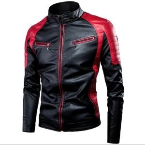Harga jaket kulit domba super asli garut jaket motor pria terbaru amp trend   hitam   HARGALOKA.COM