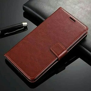 Harga wallet leather flip case vivo y53 casing hp new dompet | HARGALOKA.COM