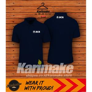 Harga polo shirt kaos polo bank bca bank central asia   | HARGALOKA.COM