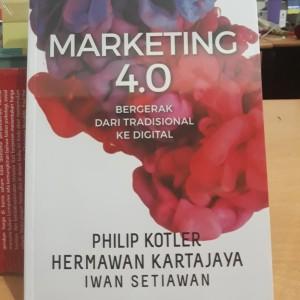 Harga buku marketing 4 0 bergerak dari tradisional ke digital oleh philip   HARGALOKA.COM