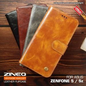 Harga wallet flip case asus zenfone 5 ze620kl 5z zs620kl flipcase soft cover   coklat   HARGALOKA.COM