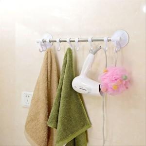 Info Rak Gantungan Handuk Aluminium Dinding Kamar Mandi Towel Hanger Katalog.or.id