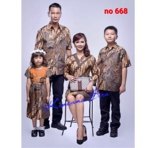 Harga 668 couple batik keluarga dewasa m xl anak 2 5   HARGALOKA.COM