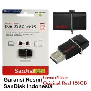 Harga sandisk flashdisk otg 128gb 150mbps usb 3 0 otg 128 gb 150 mb s | HARGALOKA.COM