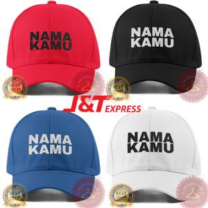 Harga topi custom baseball cap wanita anak bordir nama satuan polos twill   twill | HARGALOKA.COM