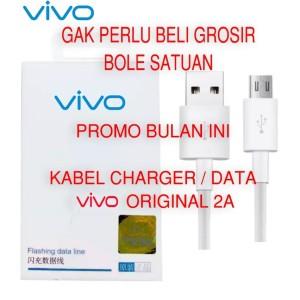 Harga kabel charger vivo y71 y95 y91 y81 y83 y65 v9 v7 v5 cable hp casan | HARGALOKA.COM