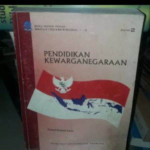 Harga buku ori pendidikan kewargaan edisi 2 terbitan universitas | HARGALOKA.COM