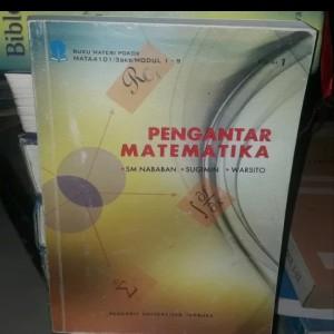 Harga buku ori pengantar matematika terbitan universitas | HARGALOKA.COM