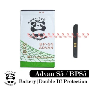 Harga baterai advan vandroid s5 bps5 rakkipanda double power | HARGALOKA.COM