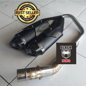Harga knalpot model ori cbr250rr black nmax aerox vario pcx 150 mio beat | HARGALOKA.COM