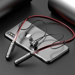 Harga headset bluetooth sports handsfree earphone metal solid magnet sgs | HARGALOKA.COM