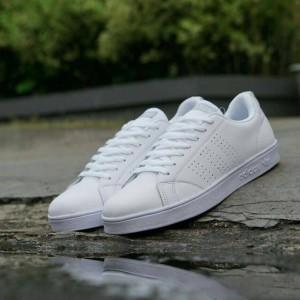 Harga sepatu adidas advantage man pria running casual keren tennis | HARGALOKA.COM
