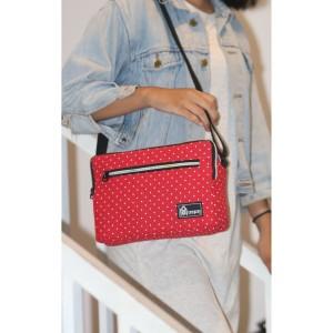 Harga tas slempang dompet kipling wanita kanvas rainbow   | HARGALOKA.COM