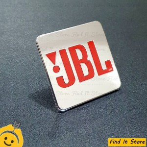 Harga sticker emblem jbl logo orange besar eksterior speaker audio new   HARGALOKA.COM