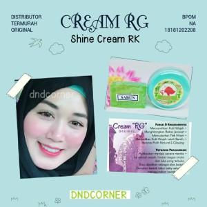 Harga terlaris paket perawatan wajah cream rg ratu glowing rk   HARGALOKA.COM